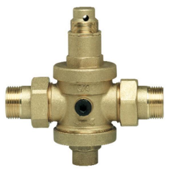 Regulátor tlaku vody s manometrem